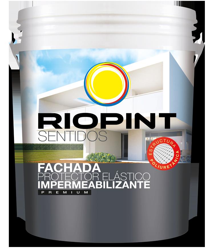SENTIDOS Fachada Protector Elástico Impermeabilizante Premium